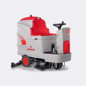 Commercial Ride On Scrubber Dryer